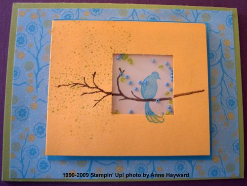Shaker Cards Branch Out and Bird on a Branch 014