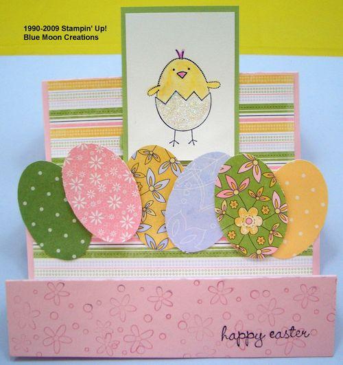 Stairstep Easter card 32209 002