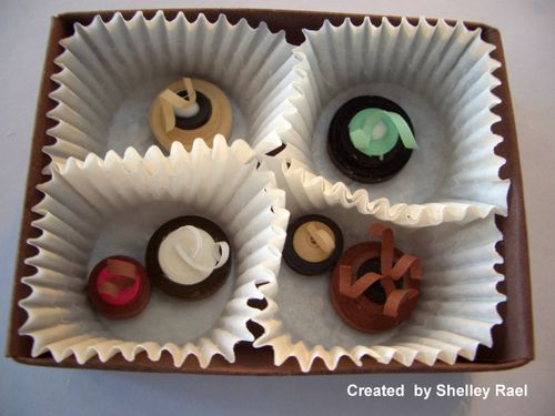 Chocolate paper quilling class 003