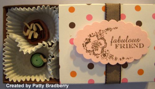 Chocolate paper quilling class 016