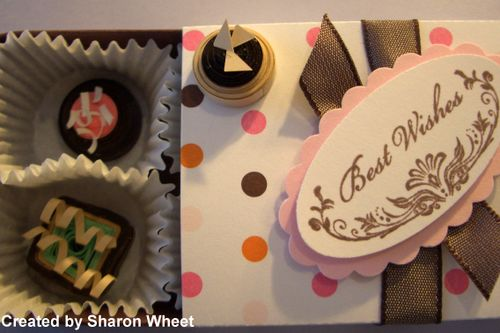 Chocolate paper quilling class 022