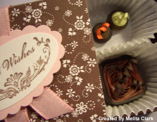 Chocolate paper quilling class 024