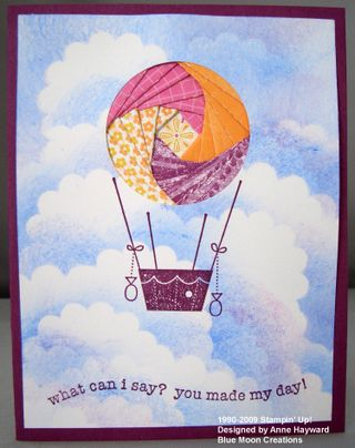 Iris Folded hot air balloon 020