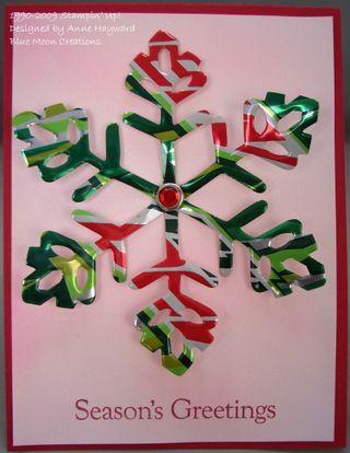 Aluminum snowflakes 010
