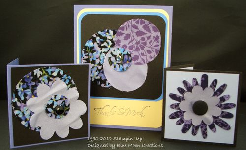 Fabric circles and flowers 017