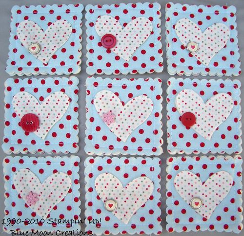 Fabric Coasters 013