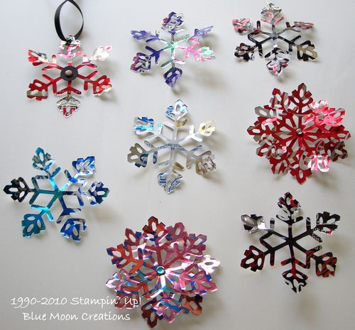 Aluminum snowflakes 088