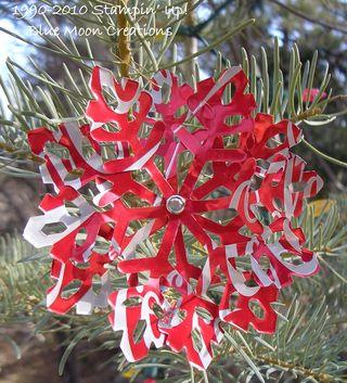 Aluminum snowflakes 091