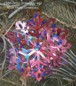 Aluminum snowflakes 093