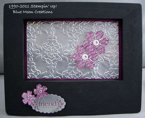 Alum can embossed frame 001
