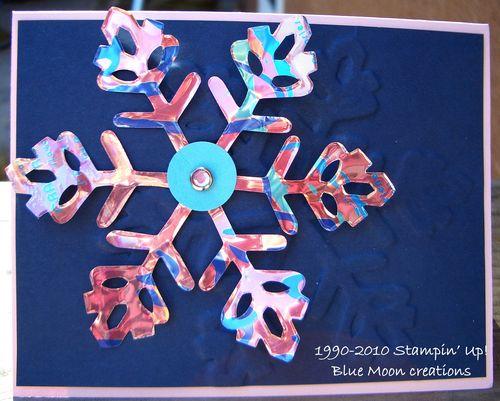 Aluminum snowflakes 048