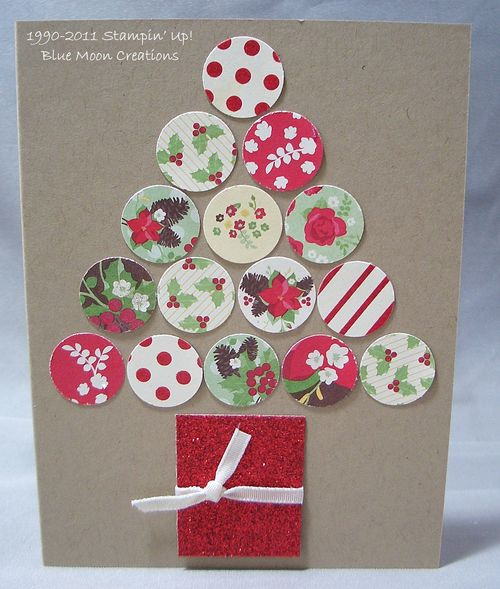 Circle Christmas Cards 008