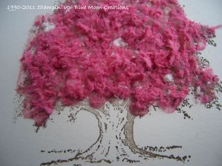 Flocked Tree 008