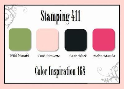Stamping 411 Color Inspiration 168