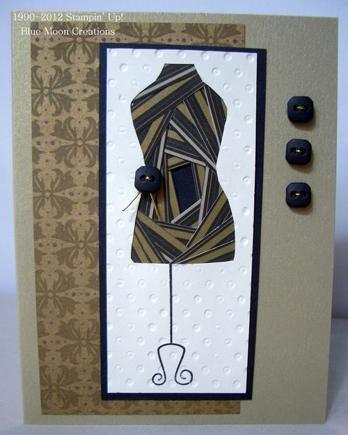 Iris Folded Dress Card 010