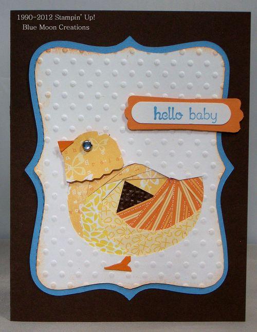 Iris Folded Chick 017