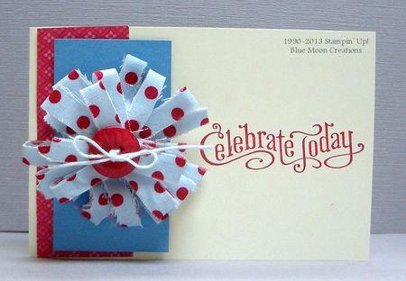 Fabric Strip Flower 002