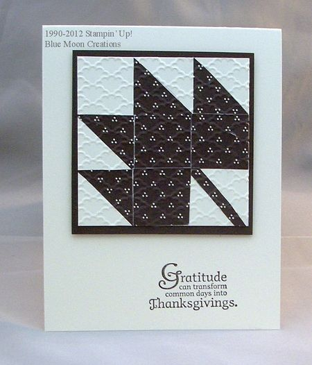 Leaf faux quilting 008