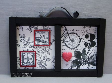 Elements of Style Shadow Box 004