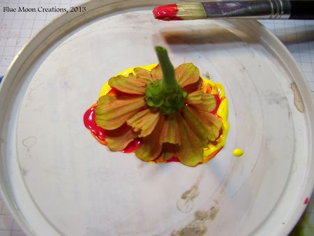Flower Stamping 003