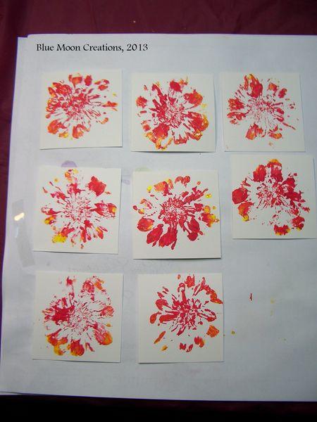 Flower Stamping 009