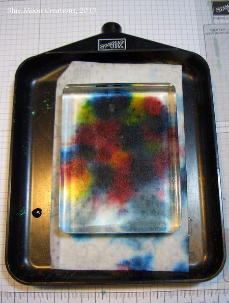 Acrylic Block Baby Wipe 003