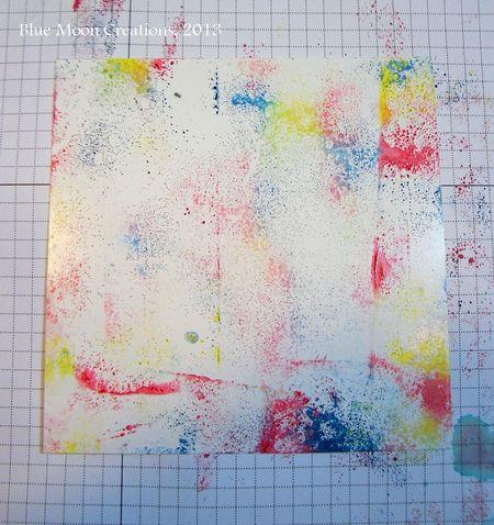 Acrylic Block Baby Wipe 005