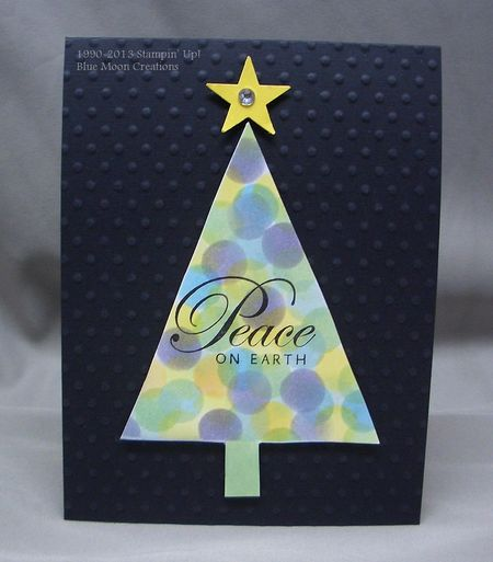 Stencil christmas tree 020