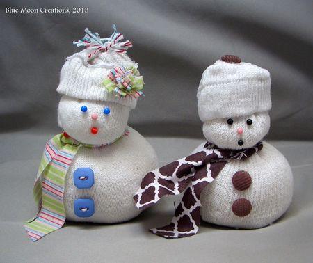 Sock Snowmen 023