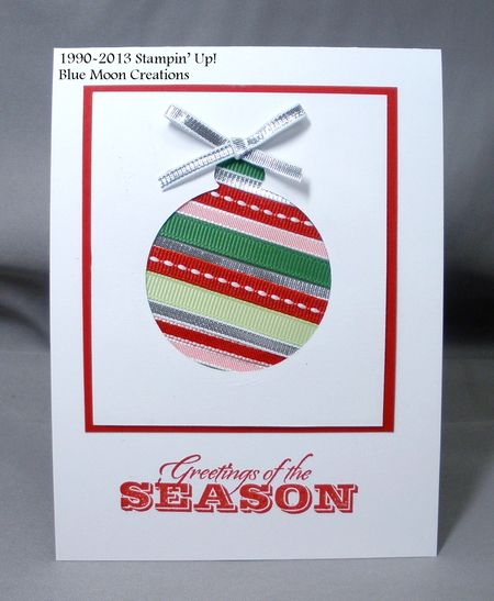 Ribbon ornament 006