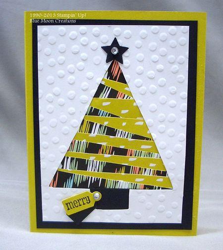 Iris Folded Christmas Tree 008