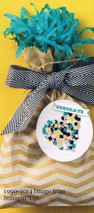 Fringe confetti