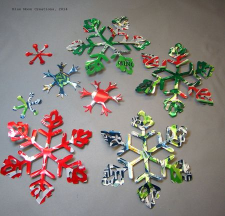 Aluminum Snowflakes 111