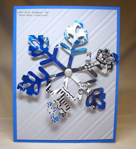 Aluminum Snowflakes 122