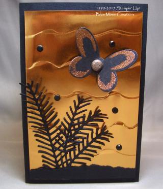 Ruffled Copper Butterfly