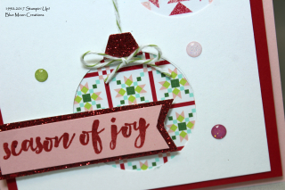 Christmas Quilt Ornaments closeup