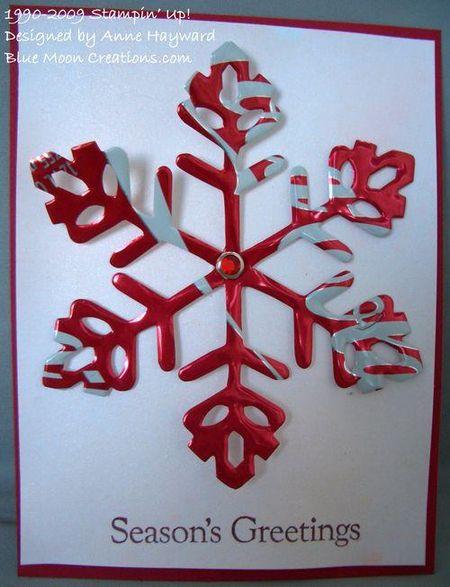 Alum snowflake