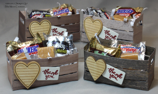 Wood Words Candy Crates