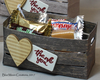Wood Words Candy Crates close up
