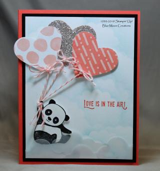 Party Panda Valentine's