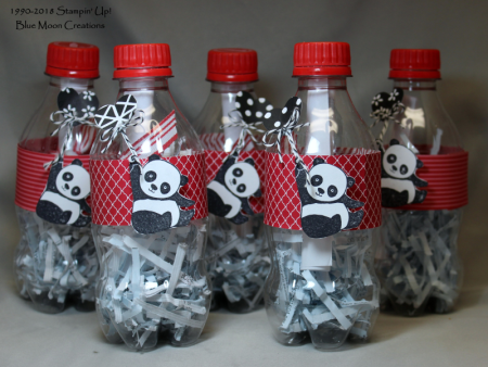 Party Pandas Message in a Bottle