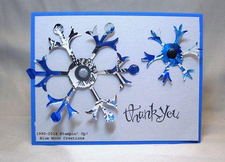 Aluminum Snowflakes 125
