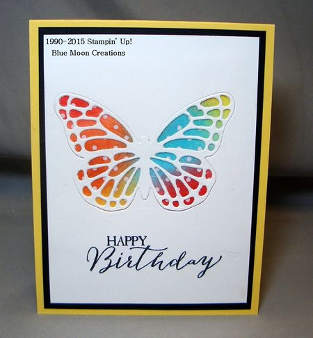 Butterfly Thinlits 020