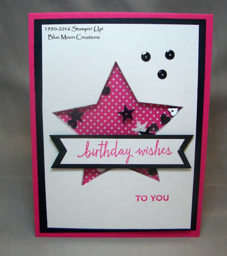 Star Framelit Shaker Card 001