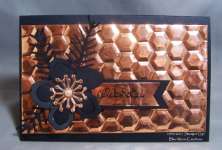 Double Hexagon Embossing Folder