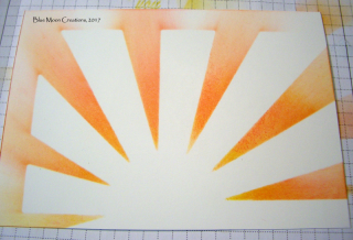 Sunburst Thinlit Die as a Stencil