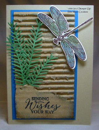 Recycled Cardboard Dragonfly Dreams