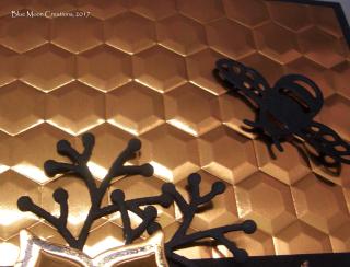 Copper Hexagons close up