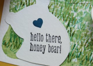 A Little Wild Garden Party Bear Inside