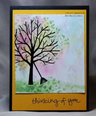 Sheltering Tree Glossy Card stock